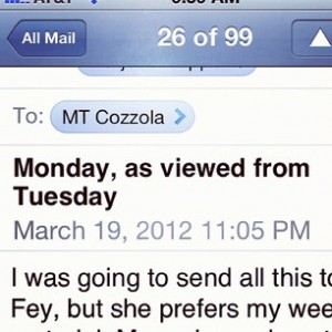 email message from Georgia.