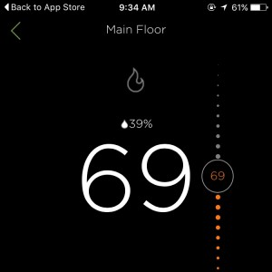 ecobee3: Our supposedly energy-efficient new thermostat. I doubt it.